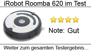 Beitragsbild Saugroboter iRobot Roomba 620 im Test