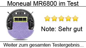 Beitragsbild Saug- und Wischroboter Moneual MR6800 im Test
