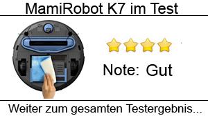 Beitragsbild Saug- und Wischroboter MamiRobot K7/KF7 im Test