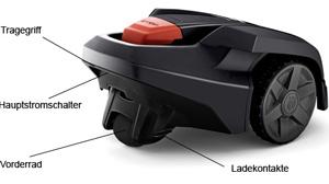 Beitragsbild Aufbau eines Husqvarna Automower 305/308