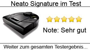 Beitragsbild Saugroboter Neato Signature im Test