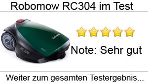Beitragsbild Robomow RC304 im Test