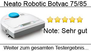 Beitragsbild Neato Botvac 75 & 85 im Test
