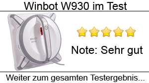 Beitragsbild Fensterputzroboter Winbot W930 im Test