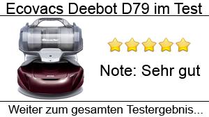 Beitragsbild Ecovacs Deebot D79 im Test
