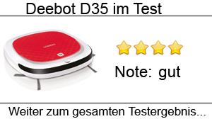 Beitragsbild Ecovacs Deebot D35 im Test