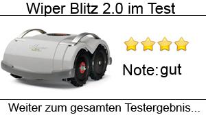 Beitragsbild Wiper Blitz 2.0 drahtloser Mähroboter im Test - Rasenroboter ohne Begrenzungskabel