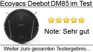 Beitragsbild Ecovacs Deebot DM85 im Test