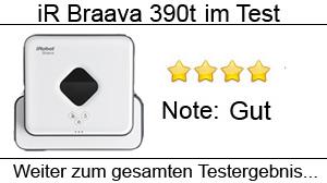Beitragsbild iRobot Braava 390t im Test