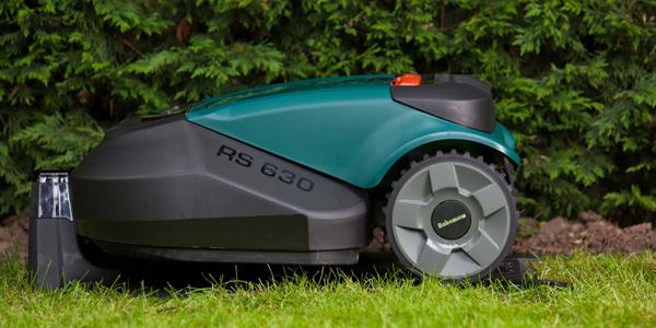 Robomow RS615 Ladestation