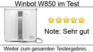 Beitragsbild Ecovacs Winbot W850 im Test