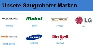Beitragsbild Unsere verschiedenen Saugroboter-Marken