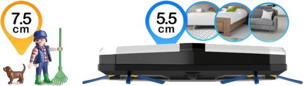 Ultra Slim Höhe nur 5,5 cm