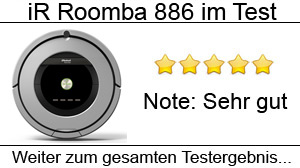 Beitragsbild iRobot Roomba 886 im Test