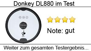 Beitragsbild Donkey DL880 by HaushaltsRobotic im Test