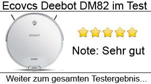 Beitragsbild Ecovacs Deebot DM82 im Test