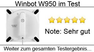 Beitragsbild Ecovacs Winbot W950 im Test