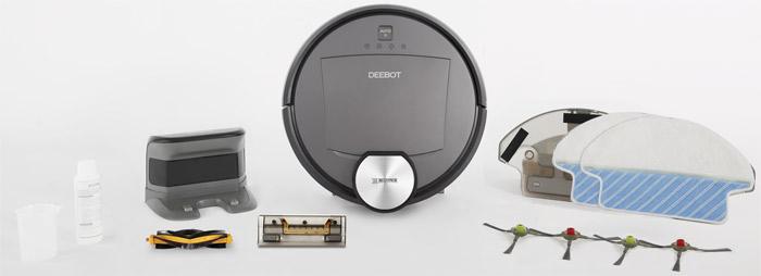 Deebot R95 Lieferumfang