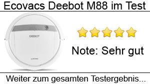 Beitragsbild Ecovacs Deebot M88 im Test