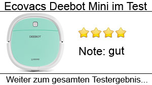 Beitragsbild Ecovacs Deebot Mini im Test