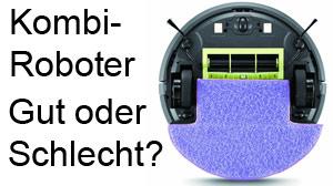 Beitragsbild Hat ein reiner Saugroboter mehr Saugkraft als ein Kombinationsroboter mit Wischen?