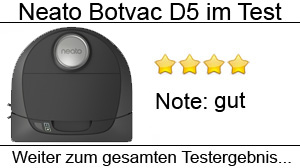 Beitragsbild Neato Botvac Connected D5 im Test