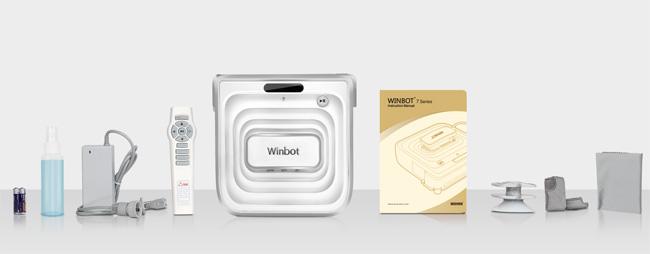 Winbot W730 Lieferumfang