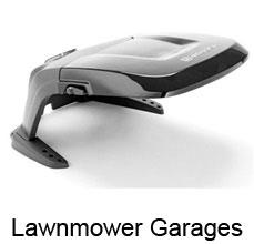 lawnmower robot garages