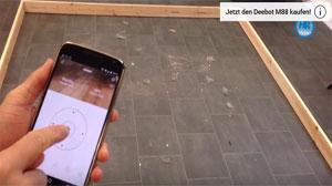 Beitragsbild Staubsauger Roboter im Härte-Test. 5 Minuten Schmutzarena!