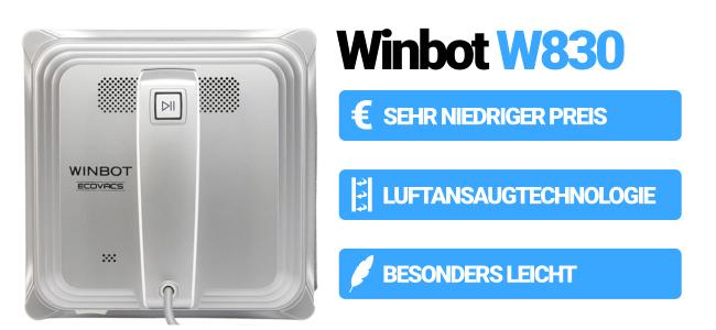 W830 von Winbot bester Fensterroboter