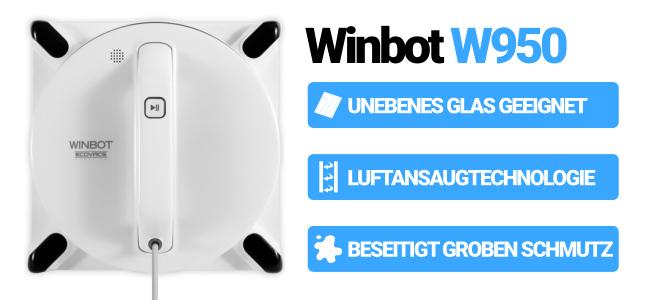 Bester Fensterroboter Winbot W950 Vorteile