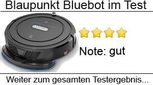 Beitragsbild Blaupunkt Bluebot Saugroboter im Test