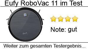 Beitragsbild Eufy RoboVac 11 Staubsaugerroboter im Test