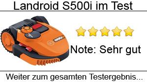 Beitragsbild Worx Landroid S500i / M500 Rasenmähroboter im Test