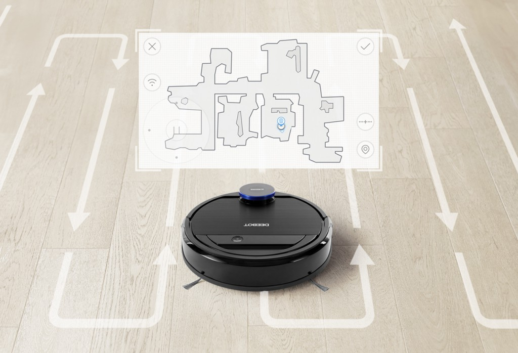 OZMO 930-Visual Map For Customized Cleaning