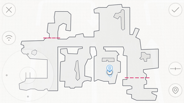 OZMO 930-Visual Map For Customized Cleaning a Kopie