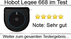 Beitragsbild Hobot Legee 668 Staubsaugroboter im Test