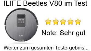 Beitragsbild ILIFE Beetles V8s Staubsaugroboter im Test