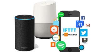 Beitragsbild Welche Saugroboter können mit Sprachassistenten, wie Alexa von Amazon, Google Home, IFTTT verbunden werden?