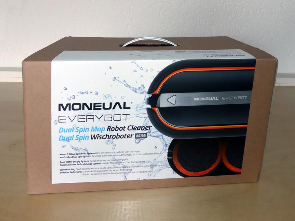 Everybot Robospin 700 Verpackung schwarz orange