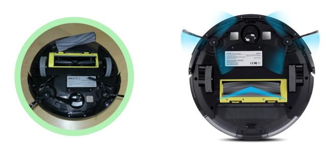 iLife A6 von unten schwarz grün