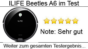Beitragsbild ILIFE Beetles A6 im Test