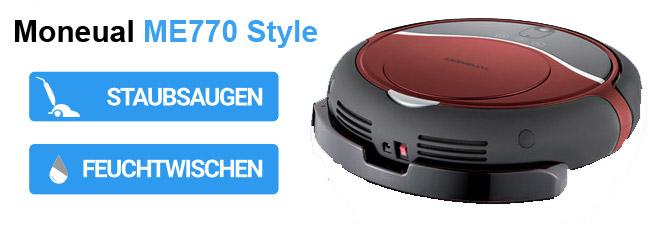 Hybridroboter: Saugroboter mit Wischfunktion