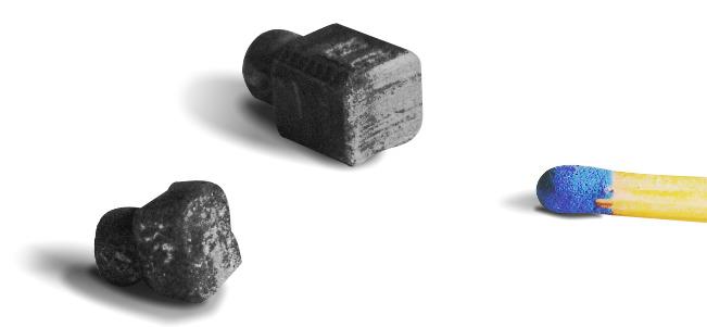 Kohlebürsten Motor Haushaltsrobotic Streichholz Kohle