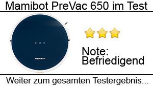Beitragsbild Mamibot PreVac 650 Saug-Wischroboter im Test