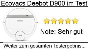 Beitragsbild Deebot D900 Staubsaugroboter im Test