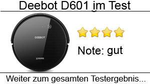 Beitragsbild Deebot D601 Staubsaugroboter im Test