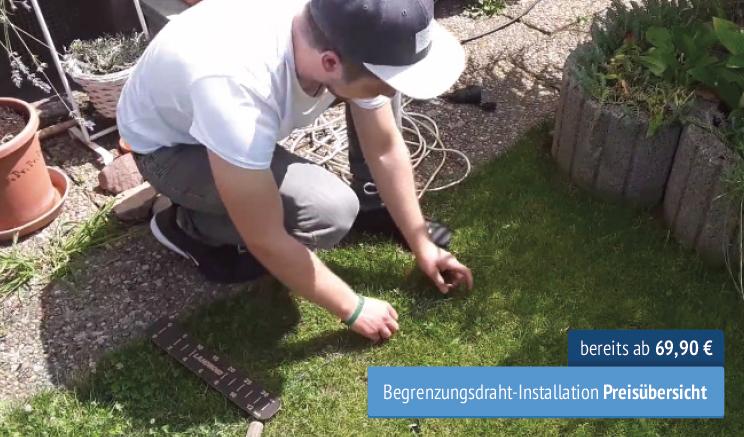 Rasenmähroboter Installations-Service