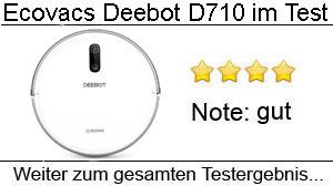 Beitragsbild Ecovacs Deebot D710 im Test