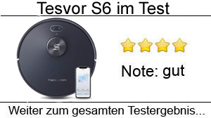 Beitragsbild Tesvor S6 Saug-Wischroboter im Test